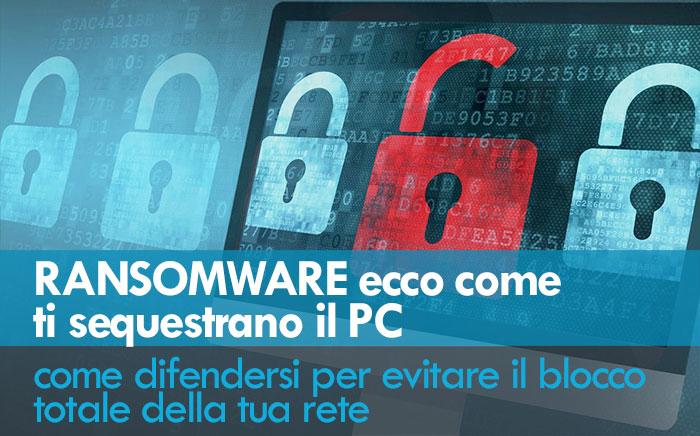 come difendersi dai ransomware