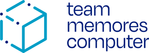 team memores computer logo